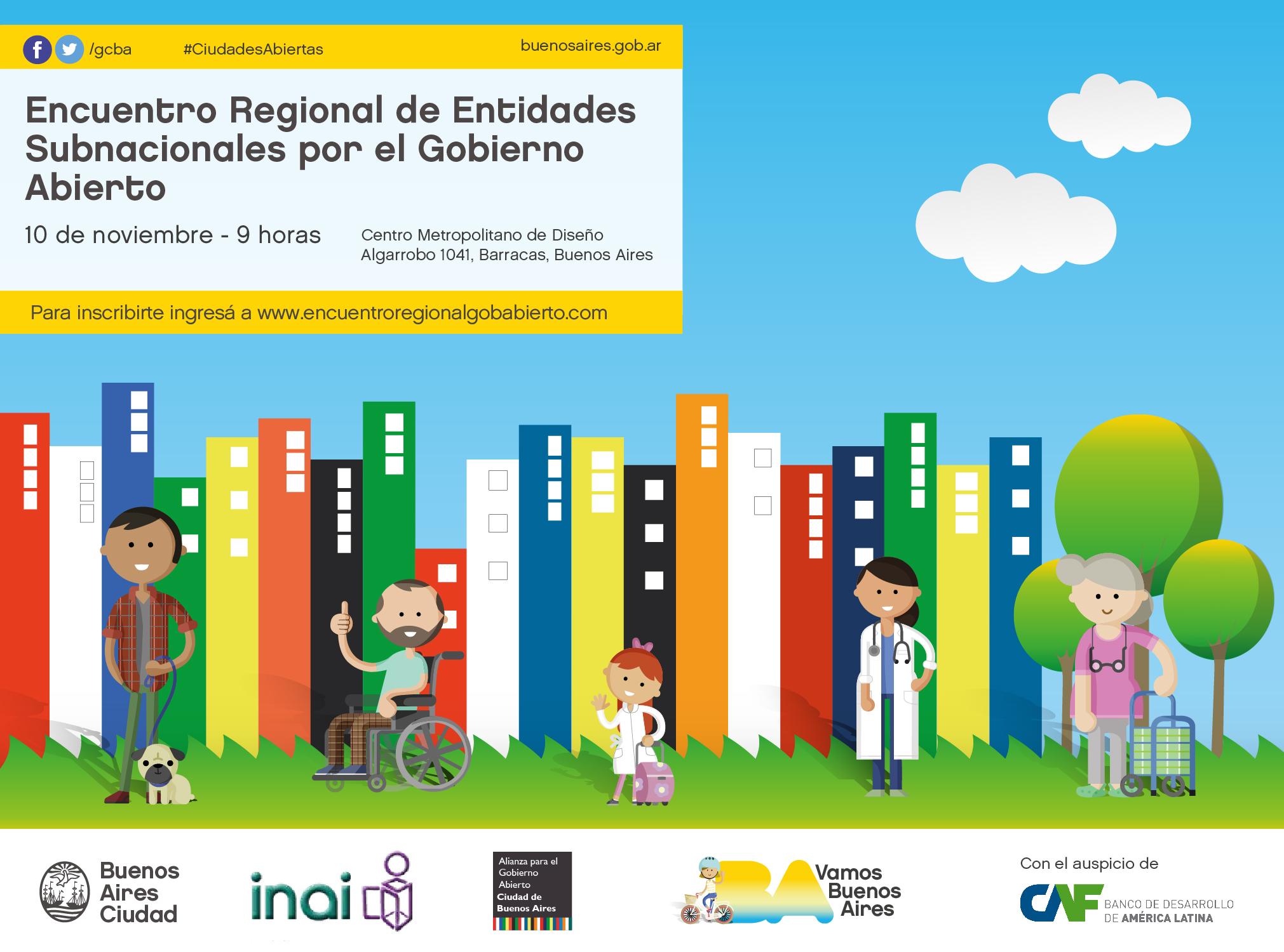 Encuentro Regional de Entidades Subnacionales por el Gobierno Abierto