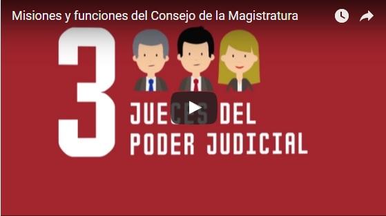 Misiones y funciones del Consejo de la Magistratura