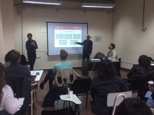 Taller de capacitación con estudiantes de periodismo de la UBA