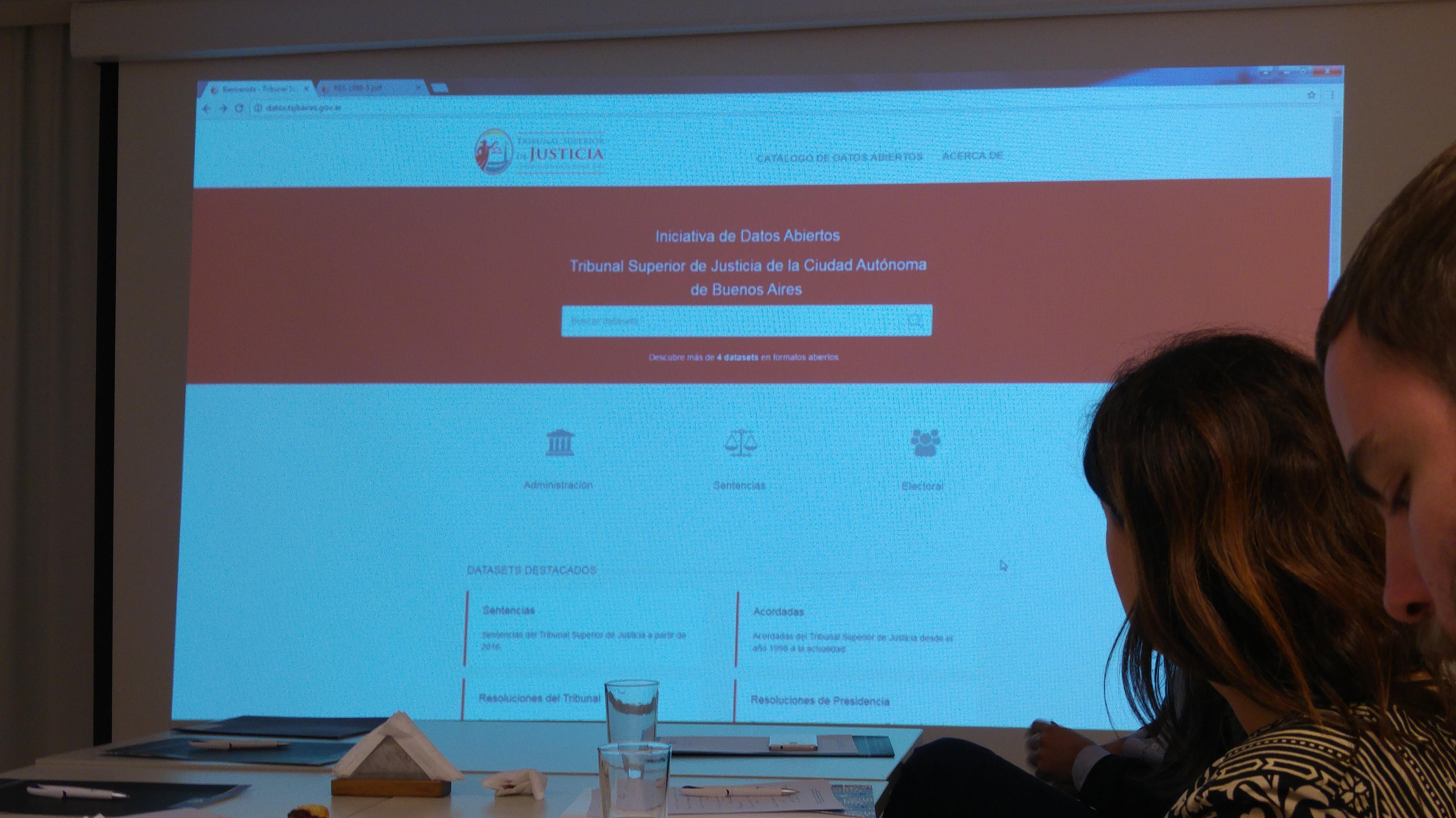 Lanzamiento Portal de Datos Abiertos del Tribunal Superior de Justicia.