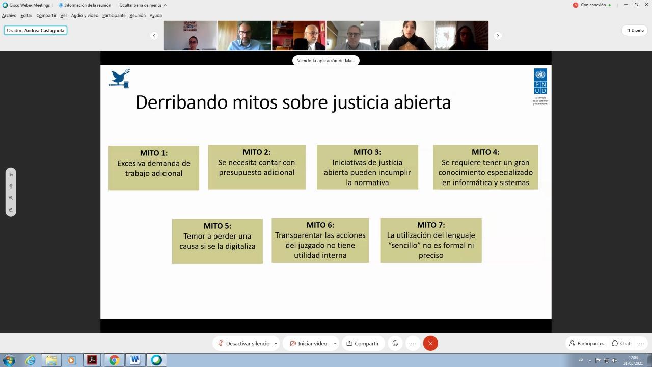 Justicia Abierta: el caso de estudio del Juzgado 10.