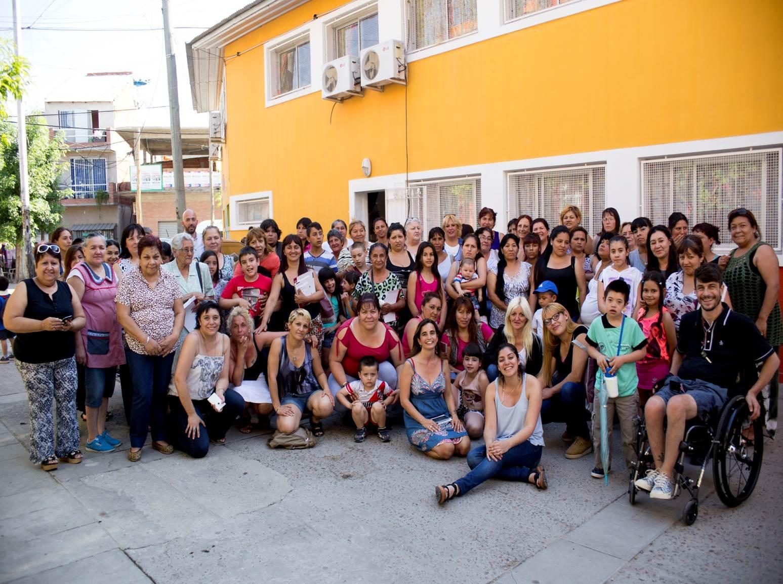 Lanzamiento Ciclo de charlas en Barrio INTA.