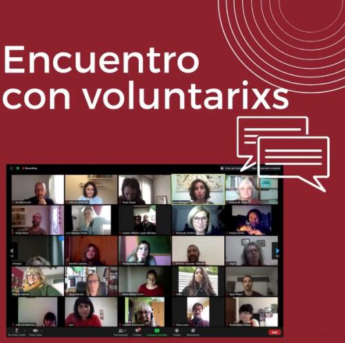 Encuentro con voluntarixs del PACJu, compartimos experiencias, desafíos y metodologías de trabajo del PACJu.